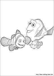 Finding Dory Coloring Picture Coloring Challenges For Kids