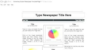 Free Newspaper Article Template For Students Blank Newspaper Template Printable Free With Vector Cle Format For