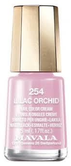 <b>Mavala</b> Mini Color Nail Color Cream 5ml - Colour: <b>254</b>: <b>Lilac Orchid</b>
