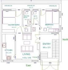 House plans for x feet east face north corner plot     x north east corner plot House plans for x feet east face north corner plot