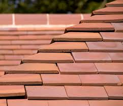 hawkins clay plain roof tile with unique colour range