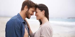 Romance partners meet woman