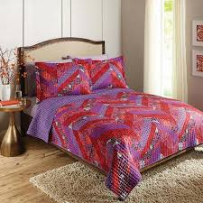 Better Homes And Gardens Quilts Better Homes And Gardens 4pc Solid ... & Buy Better Homes and Gardens Milena Chevron Bedding QuiltShams Adamdwight.com
