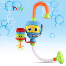 2018 baby bath toys shower water bathtub accessories fountain waterwheel play game bath bathroom toy for kids early educational from qwinner