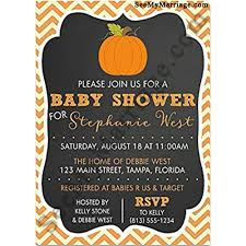 Baby Shower Invitation Cards Little Pumpkin Fall Baby Theme Black Background With Pumpkin Baby Shower Invitation Card