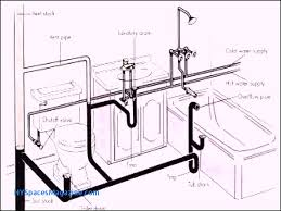 basement bathroom plumbing. Bathroom Tub Plumbing Diagram Inspirational Bathtub Basement With G