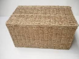 Seagrass Bedroom Furniture Seagrass Storage Chest Trunk Big Baskets Kids Children Toy Box