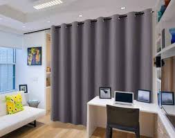 best soundproof room divider curtains