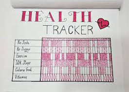 Weight Loss Tracker For Bullet Journal Develop Healthy Habits