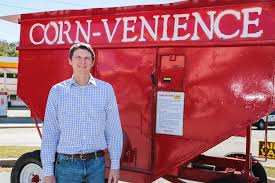 Corn Vending Machine Magnificent Darlington Native Innovates For Hunters