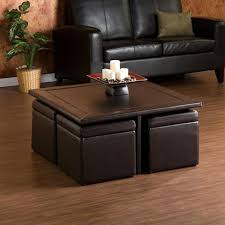 Brilliant Storage Coffee Table Ottoman Harper Blvd Crestfield Dark Brown Coffee  Table Storage Ottoman