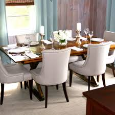 Modern Fabric Dining Room Chairs Afrozepcom - Dining room chairs blue