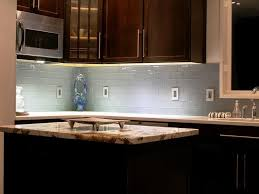 gray backsplash dark cabinets. Grey Subway Tile Backsplash With Dark Cabinets For Gray