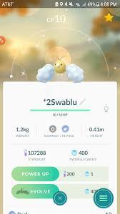 Swablu Evolution Chart Pokemon Go Www Bedowntowndaytona Com