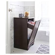 laundry furniture. Threshold Home Furnishings Laundry Tilt Out Wood Hamper, Brown, Bathroom Basket Furniture B