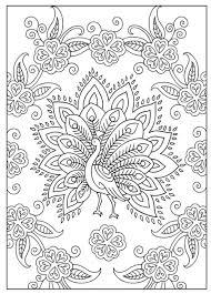Moeilijke Kleurplaat Pauw Kleurplaten Kleurplaten Mandala