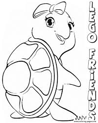 Small Picture lego friends turtles Coloring pages Printable