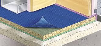 floating floors acoustic