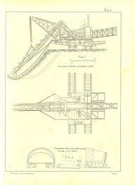 570x776 1900 technical drawing excavator mechanical by carambasvine