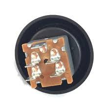 plastic knob and bezel 3 speed rotary heater fan switch car plastic knob and bezel 3 speed rotary heater