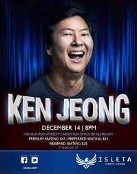 Ken Jeong Isleta Resort Casino The Showroom
