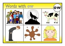 Click the buttons to print each worksheet and associated write each word on the line. Words With Ow Phonics Activities And Printable Teaching Resources Sparklebox