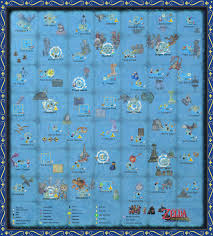 the wind waker full sea chart w pictures by zantaff on deviantart