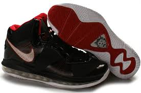 lebron running shoes. nba nike air max lebron james 8 v2 black-red @+j9rg shoes hottest running o