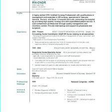 Free Nursing Resume Templates To Print Archives