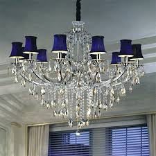 ceiling lights astonishing cream blue chandelier crystals cobalt boscocafe in modern uptown blue chandelier