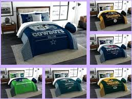 nfl bedding set licensed 3 piece king comforter sham bed set in a bag choose your nfl bedding set