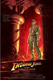 Indiana Jones Temple Of Doom One Sheet Poster Sold At Abposters Com