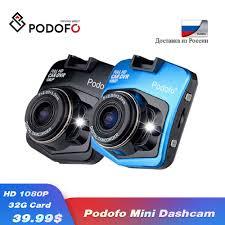 <b>2019 New Original</b> Podofo A1 Mini Car DVR Camera Dashcam Full ...