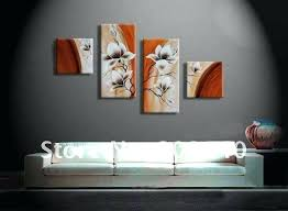 office wall paintings. Contemporary Wall Office Art Decor Free Shipping Flower Oil Painting Abstract Orange  Decoration Artwork High Quality Handmade Home  Splendid Wood Panel Wall  For Office Wall Paintings