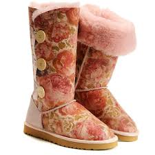 UGG Boots Sale - Bailey Button Triplet - Flower - 1873