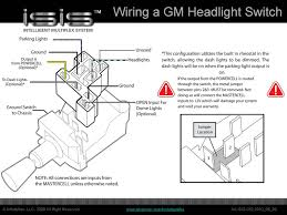 the isis intelligent multiplex system how to wire a headlight c10 headlight switch wiring at Gm Headlight Wiring Diagram