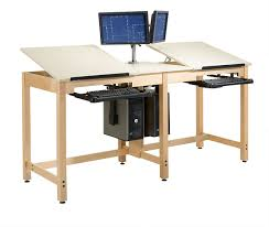 Cdtc 73 Two Station Cpu Drafting Table