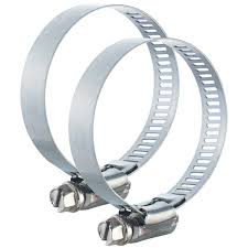 plumbcraft dryer vent hose clamps 4 inches pack of 2 plumbing meijer grocery pharmacy home more