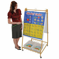 Anchor Chart Easel Mobile Teaching Flip Chart Writing Easel