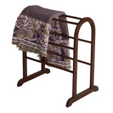 Quilt Rack & Winsome Wood Winsome Quilt Rack Closet Organizer in Antique Walnut Adamdwight.com