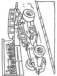 Kleurplaat Formule 1 Racewagen Kleurplatennl