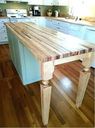 wooden legs for kitchen islands wood en s