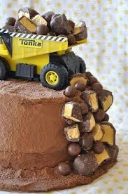 Little Boy Cake Kids Cakes Tortas De Construcción Pastel De