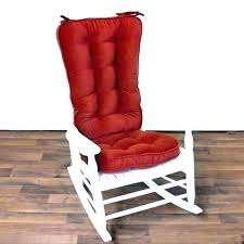 rocking chair pads and cushions rocking chair cushion set rocking chair cushions red outdoor rocking chair