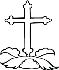 Crosses Coloring Pages Cross Coloring Pages Free Printable Cross
