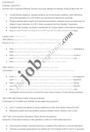 Goldman Sachs Resume Amazing Objective For Resume Resume Template