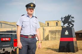 The RAFP saw Wg Cdr Jan Knight off in... - Royal Air Force Police | Facebook