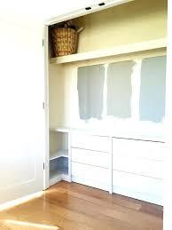 dresser inside closet dressers for small walk in