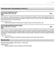 Resume Model For Experience Candidate Sales Manager Resume Sample Free Resume Template