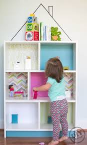 Storage & Organization: Cloud Kids Bookcase With Ribba Ledges - IKEA Toy  Storage